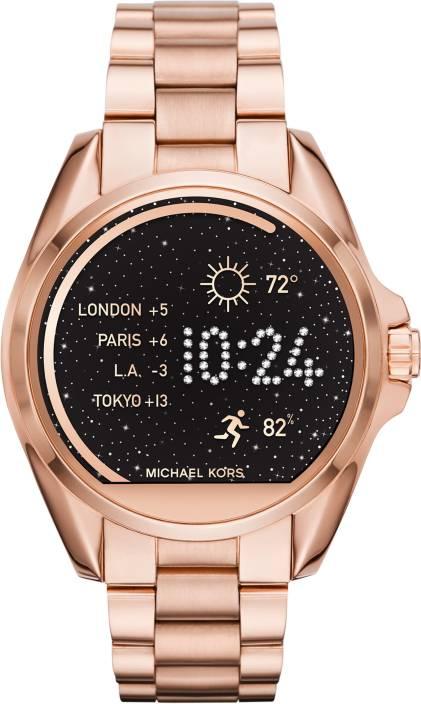 ba742edb2 Michael Kors Access Bradshaw (For Men & Women) Rose Gold Smartwatch (Gold  Strap Regular)