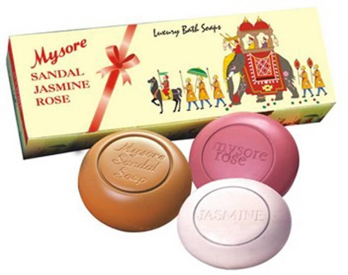6e214d6867124 Mysore Sandal 3 In 1 Gift pack - Price in India