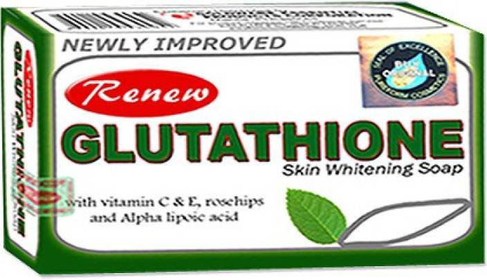 renew glutathione skin whitening & fairness soap - price in india, Skeleton