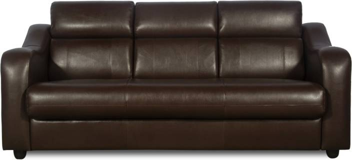 Godrej Interio Elite Leather 3 Seater Sofa Price In India Buy