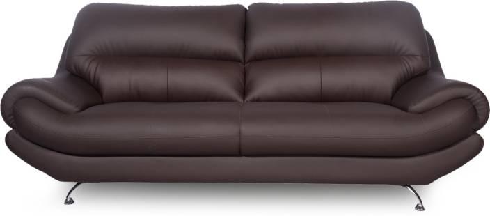 Godrej Interio Euro Pro Leatherette 3 Seater Sofa Price In India