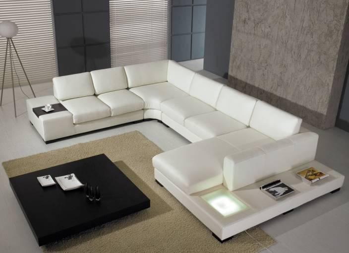 IKEA Classy Leather 7 Seater Sofa