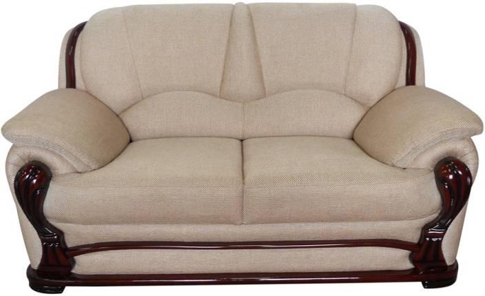 Vintage Ivoria Fabric 2 Seater Sofa Price In India Buy