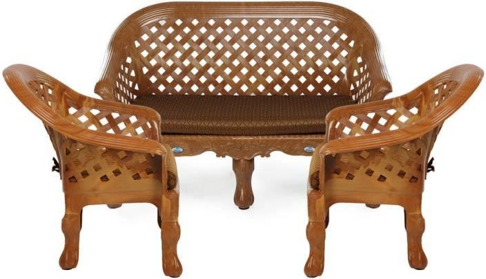 Nilkamal Luxura Fabric 2 1 1 Sofa Set Price In India