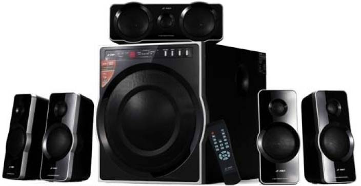 F D F6000 Home Audio Speaker Black 5 1 Channel