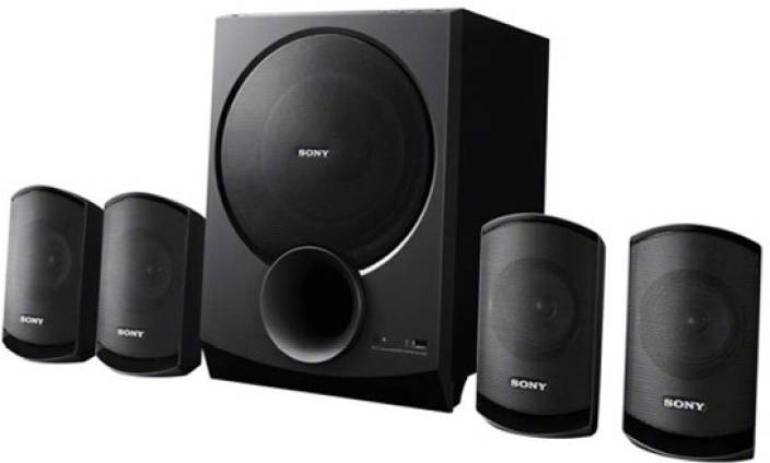 sony home theater system. sony sa-d100 portable bluetooth home audio speaker theater system