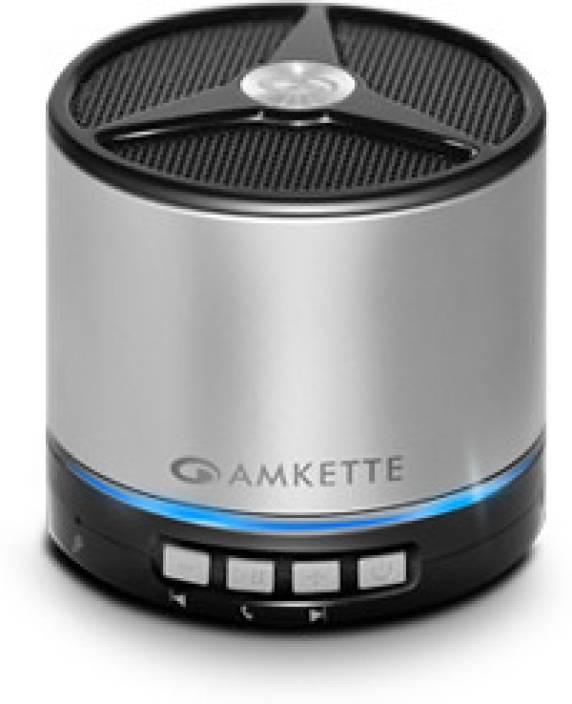Amkette Tru Beats Metal 3 W Portable Bluetooth  Speaker
