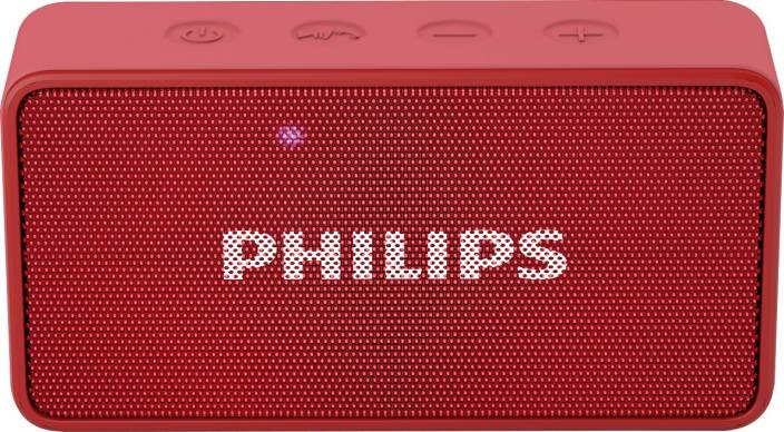 Philips BT64R/94 Portable Bluetooth Mobile/Tablet Speaker