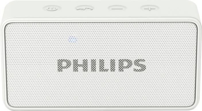 Philips BT64W/94 3 W Portable Bluetooth  Speaker