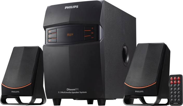 Philips IN-MMS2550F/94 Portable Laptop/Desktop Speaker