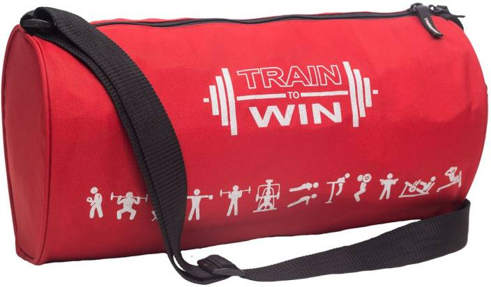 Cosmus Fitwel Red Gym Bag