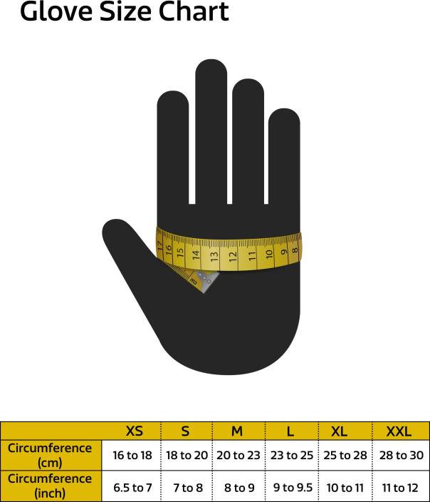 Probiker Half Cut Riding Gloves (XL, Black)
