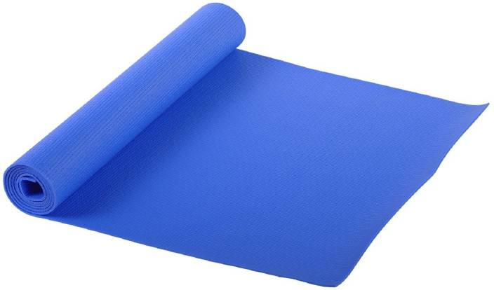 Icable BLUE 10mm Blue 10 mm Yoga, Exercise & Gym Mat