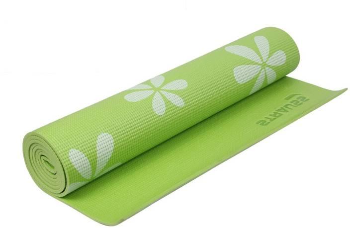 Strauss Floral Green 6 mm Yoga Mat