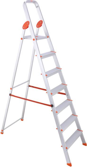 Bathla 6 step aluminium ladder price in india buy bathla for House doctor ladder