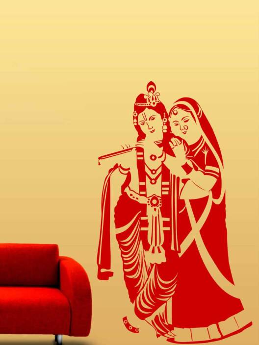 Trends on Wall Medium Spritual Sticker Price in India - Buy Trends ...