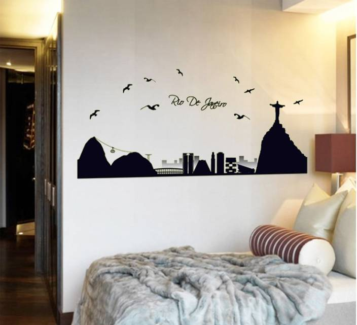 cortina extra large radium wall sticker sticker price in india - buy