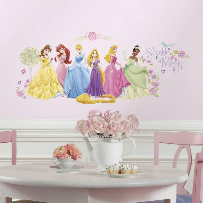 Nilaya by Asian Paints Small Disney Glow Princess Sticker Price in