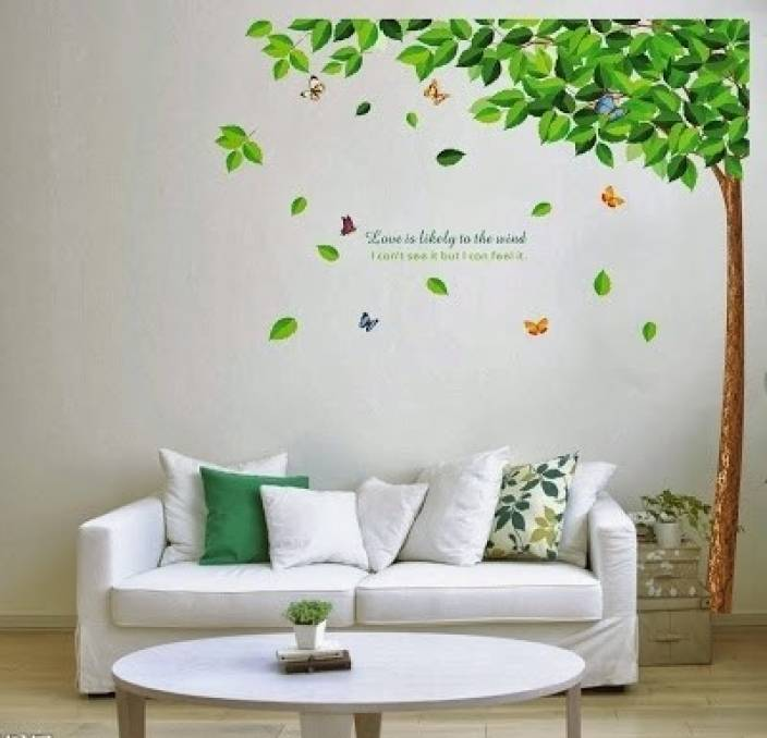 WoW Wall Stickers PVC Removable Sticker Price In India Buy WoW - Wall decals india