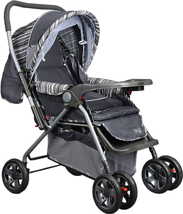 LuvLap Comfy Baby Stroller - Buy 3 PositionIIReclining