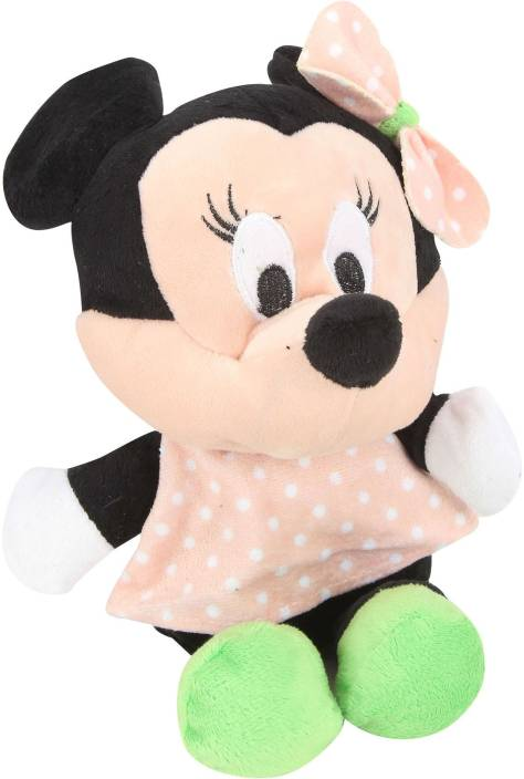 Disney Minnie Polka Dot Peach - 8 Inch  - 20 cm