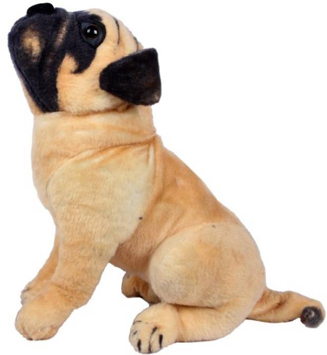 Unica Stuffed Soft Toy Pug Dog 14 Inch Stuffed Soft Toy Pug Dog
