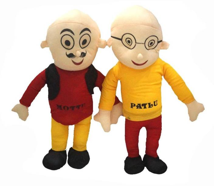 Srvsoft Motu Patlu Soft Toy 45 Cm Motu Patlu Soft Toy Buy Motu