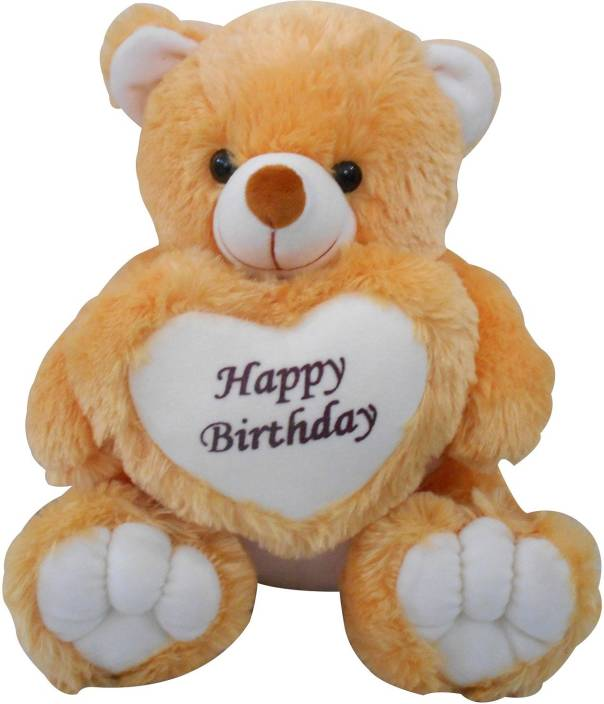 f6fa536dfc7 Saugat Traders Happy Birthday Teddy Bear - 40 cm - Happy Birthday ...