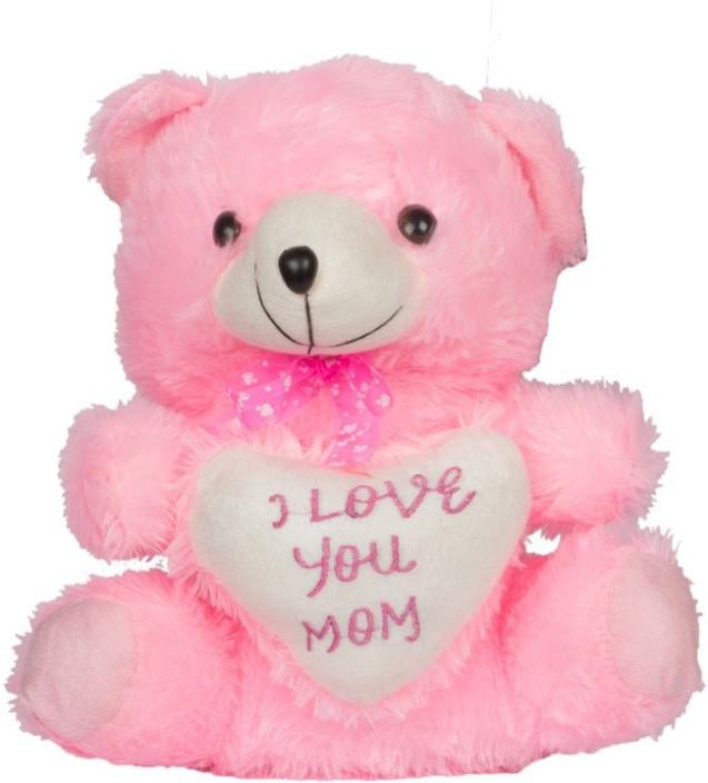 "Pink Love You Teddy Bear 10"" Plush Soft Stuffed Animal"