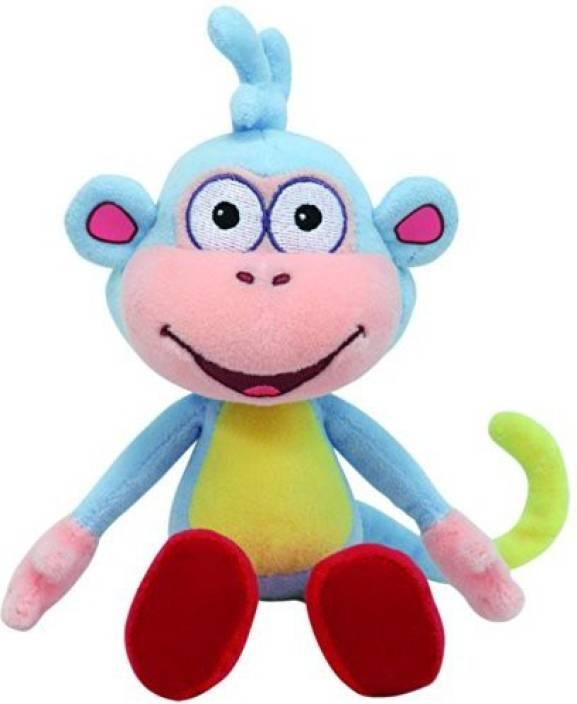 23ca52baacb Dora the Explorer Ty Beanie Ba Boots Dora S Monkey - Ty Beanie Ba ...