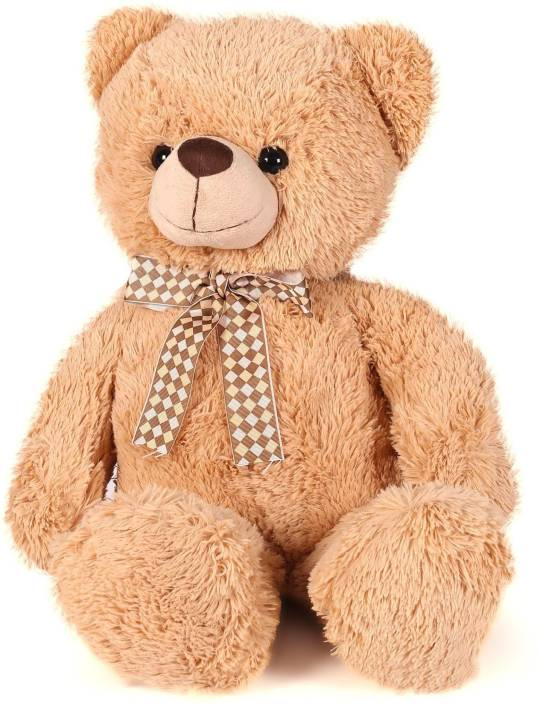 Starwalk Classic bear with Ribbon Light Brown (46 cm)  - 46 cm