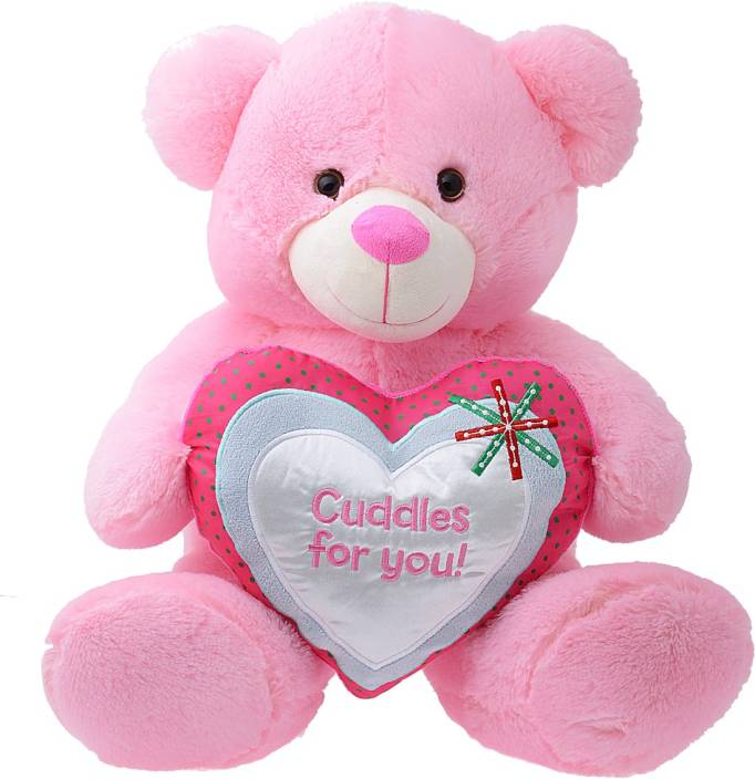 Dimpy Bear with Cuddles  - 42 cm