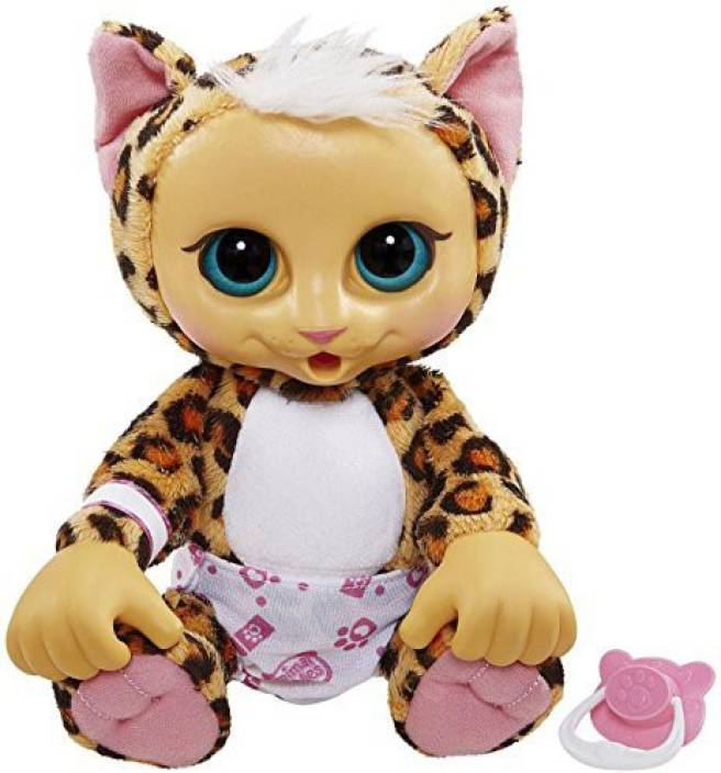 Animal Babies Baby Snow Leopard Plush 25 Inch Baby Snow Leopard