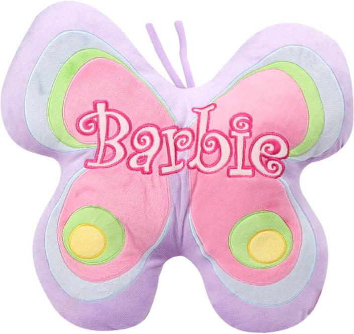 Barbie Butterfly Shaped plush - 45 cms and Size 45 cm  - 36.60 cm