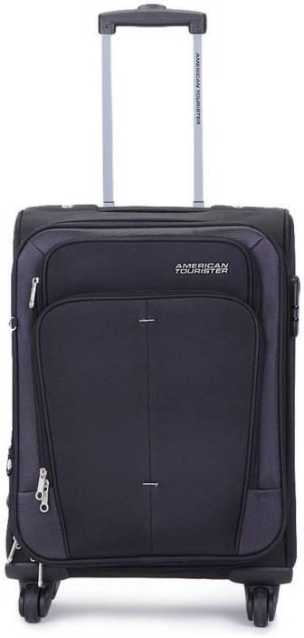 American Tourister Crete Expandable  Cabin Luggage - 21 inch