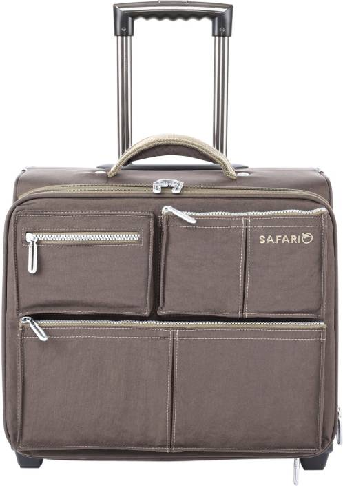 173e75aecf43 Safari SAHARA Cabin Luggage - 18 inch COFFEE - Price in India ...