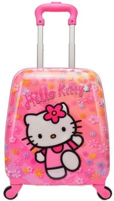 0fedbe216754 Kiddale Colorful Kids Trolley Travel Suitcase or School Bag 18 inch Cabin  Luggage - 18 inch