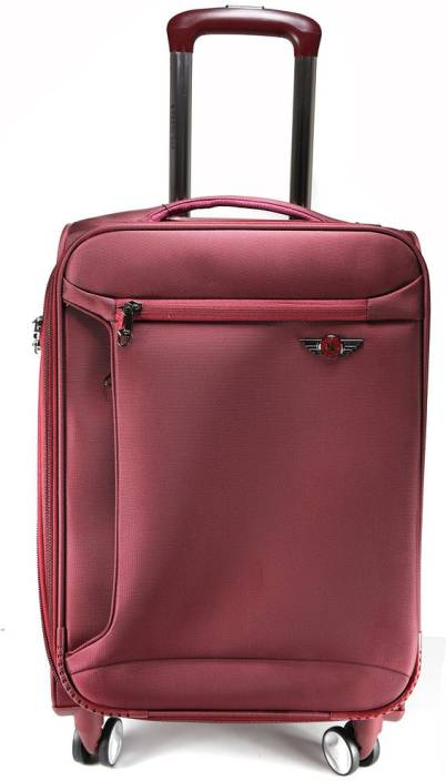 10fbc297a8 Texas USA 28 inch 4 wheel Trolley Bag Expandable Check-in Luggage - 28 inch  (Maroon)