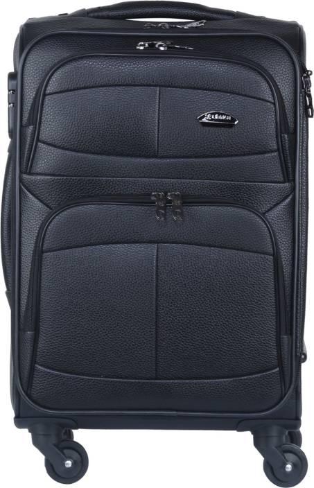 Originals LEGION 791 Expandable Cabin Luggage - 20 inch Black ... 7034713028dd1