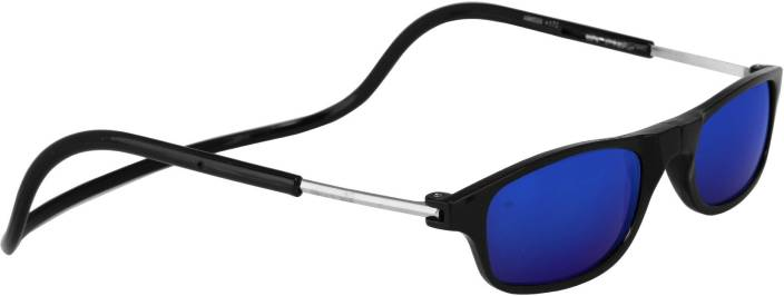 a70965c69370 Buy Silver Kartz Round Sunglasses Blue For Men & Women Online @ Best ...