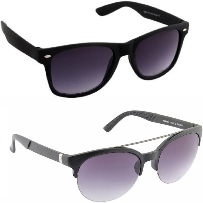 284433c4a0596 Buy Irayz Oval Sunglasses Black