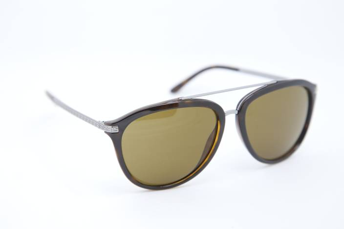 f475809c6e9 Buy Versace Aviator Sunglasses Brown For Men   Women Online   Best ...
