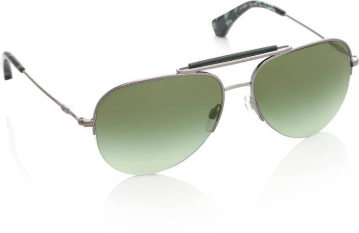 a8b70b51243b Buy Emporio Armani Aviator Sunglasses Green For Men Online   Best ...