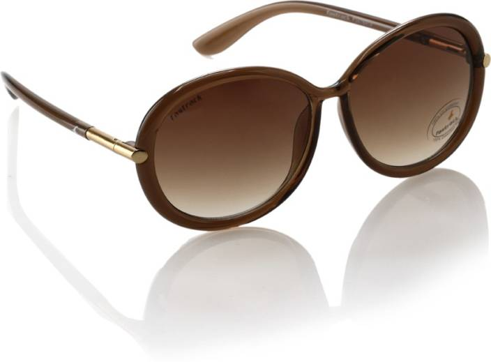 342c415056e Buy Fastrack Round Sunglasses Brown For Women Online   Best Prices ...