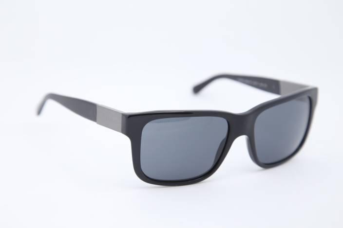 58abb5b4a3d Buy Burberry Wayfarer Sunglasses Grey For Men   Women Online   Best ...