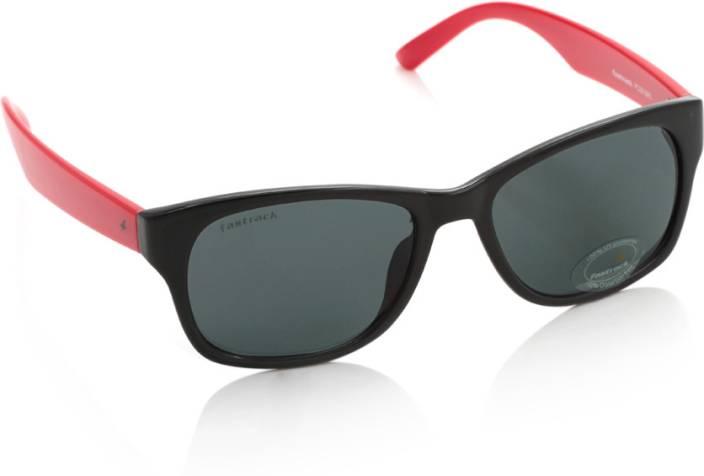 00334c4029 Buy Fastrack Wayfarer Sunglasses Grey For Men   Women Online   Best ...