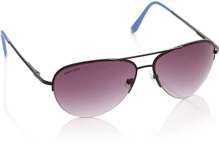 75bf99bdad Buy Fastrack Aviator Sunglasses Pink For Men   Women Online   Best ...