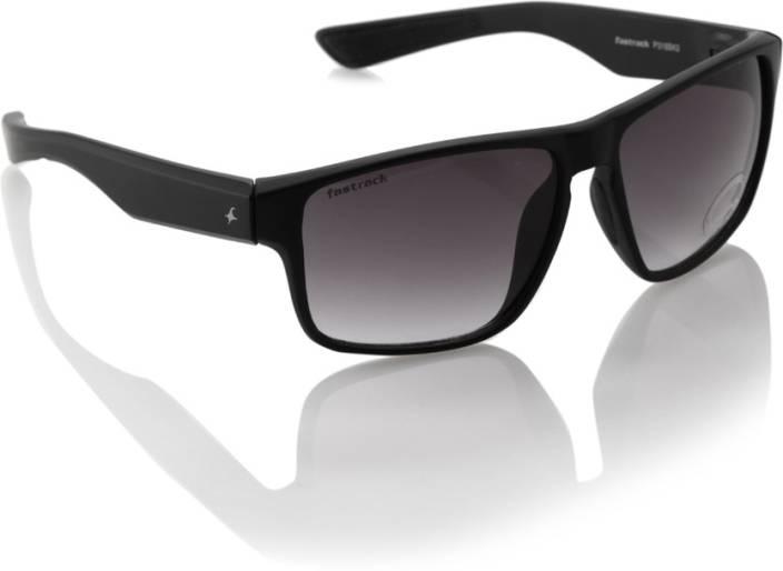 3495766058 Buy Fastrack Wayfarer Sunglasses Black For Men Online   Best Prices ...
