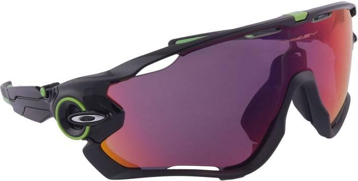 df77df2c4961 Buy Oakley JAWBREAKER Sports Sunglass Red For Men Online   Best ...