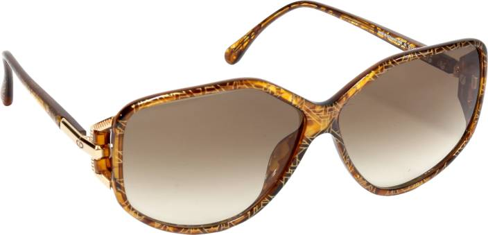 ab3370abd434b Buy Christian Dior Wayfarer Sunglasses Brown For Women Online   Best ...